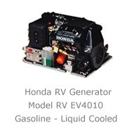 Quiet Honda RV generator line offers two compact gas units.
